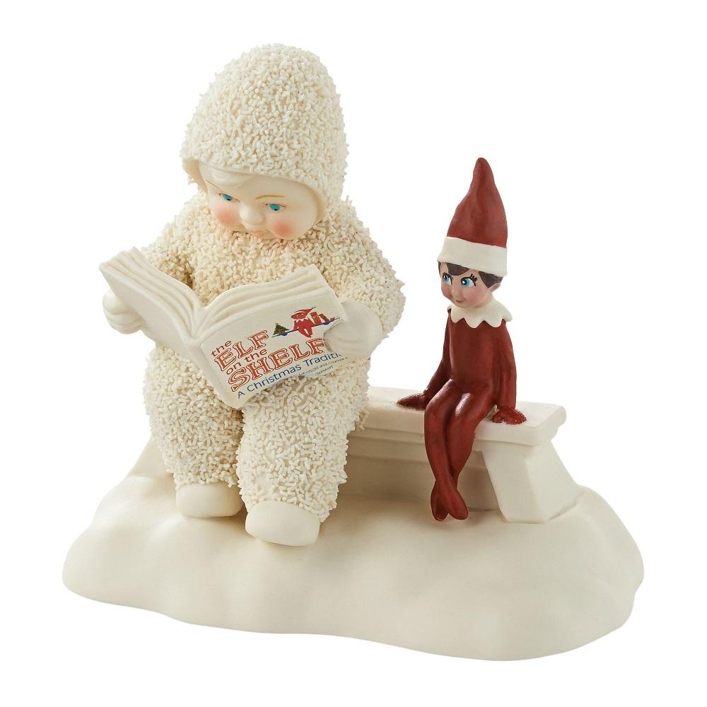 Elf On A Shelf Listens To A Story
