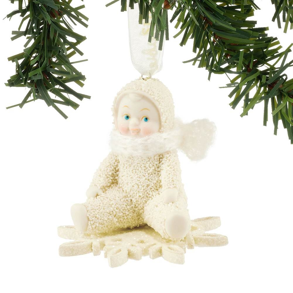 Drifting On A Snowflake Ornament