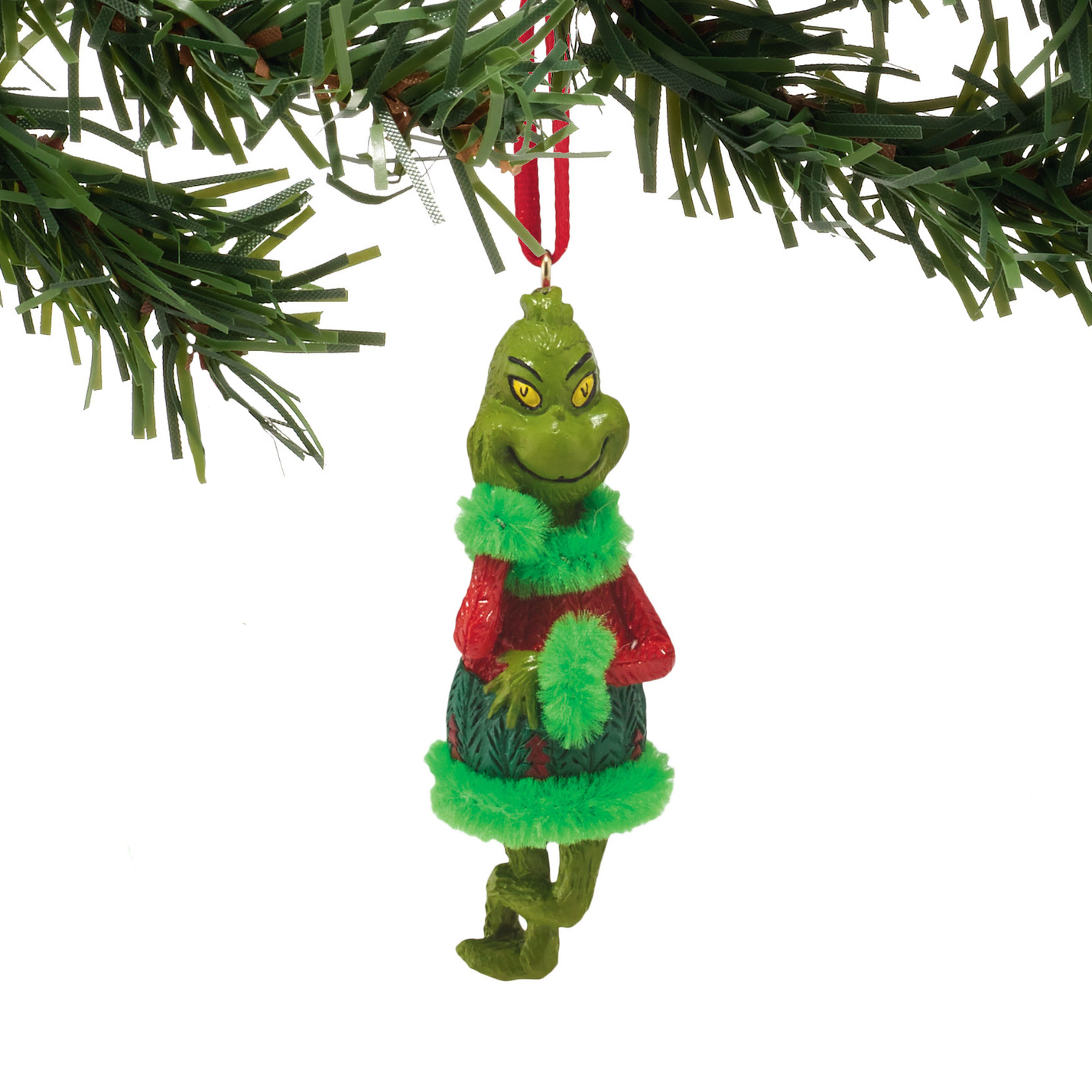 Red And Green Outfit Grinch