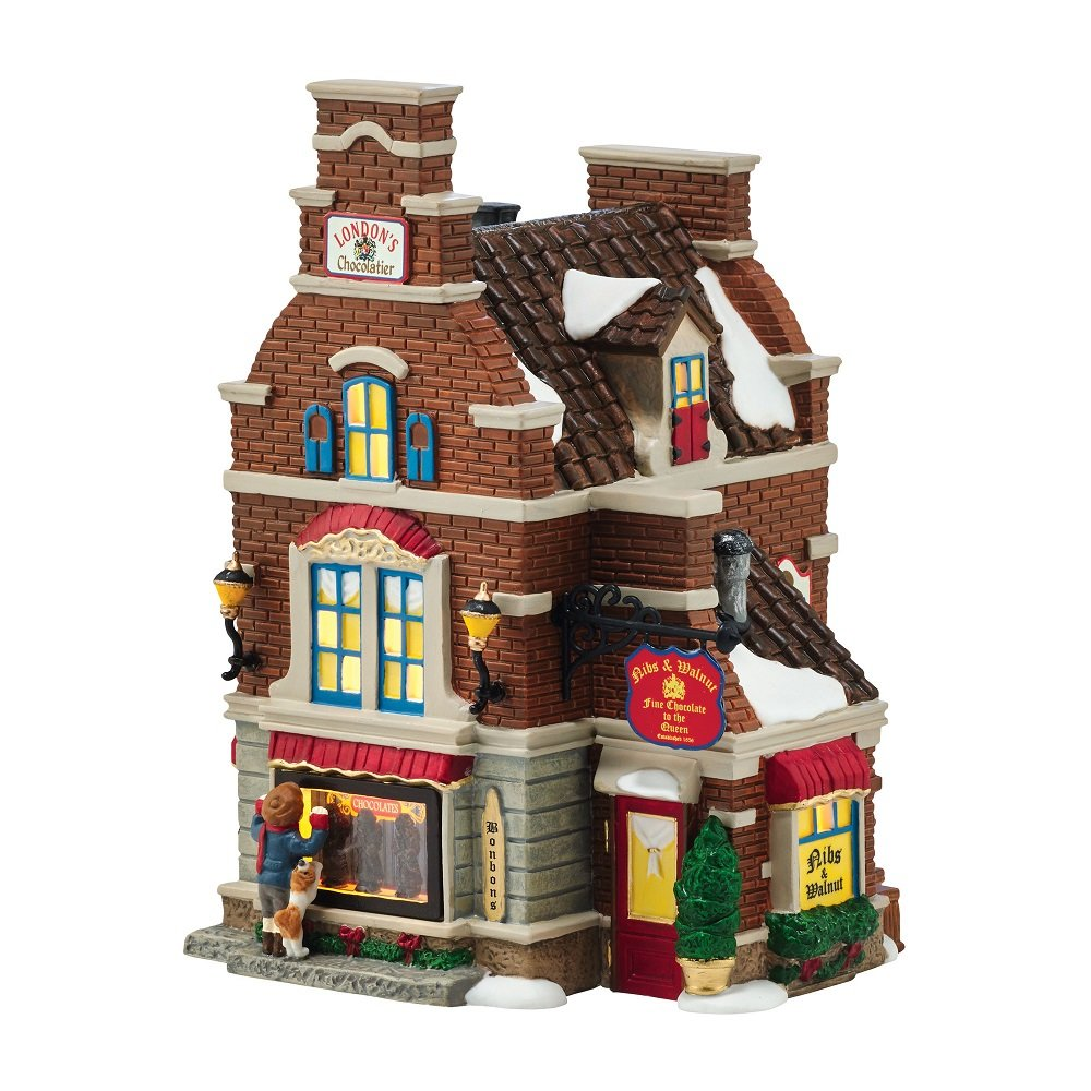 Lighted Christmas Village Sets