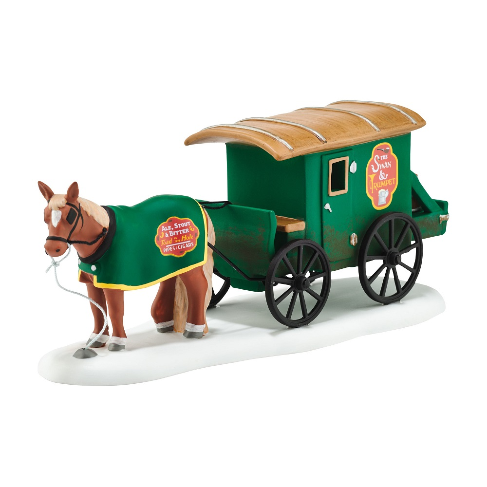 Swan And Trumpet Beer Wagon