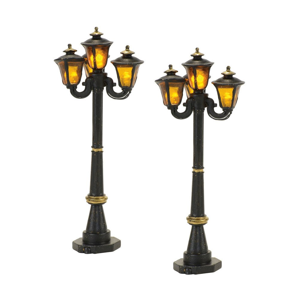 Department 56 4057580 Victorian Street Lamps