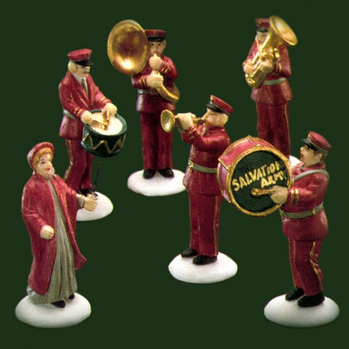 Salvation Army Gifts For Christmas: DEPARTMENT 56 59854 Salvation Army Band