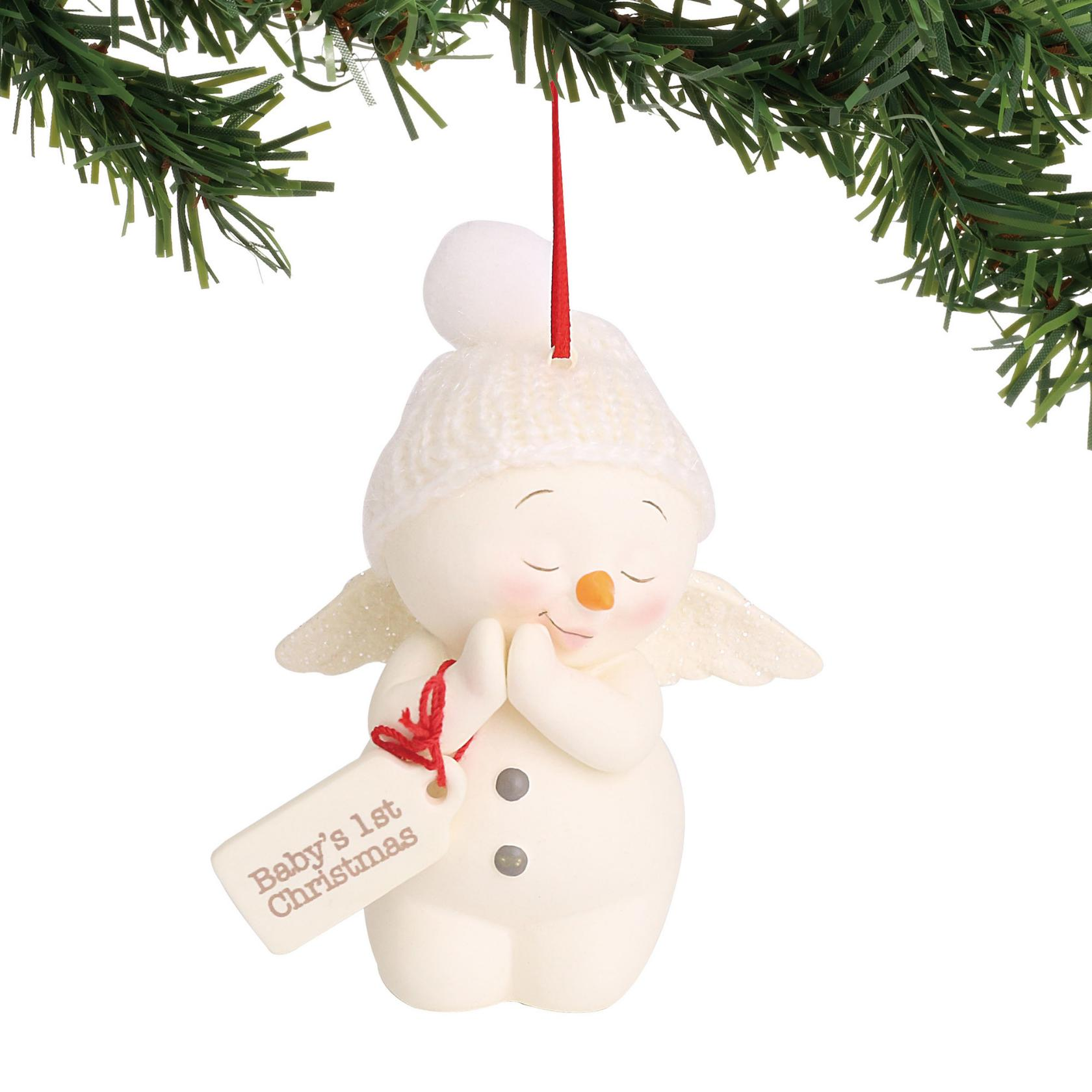 department 56 6000919 babys first christmas ornament