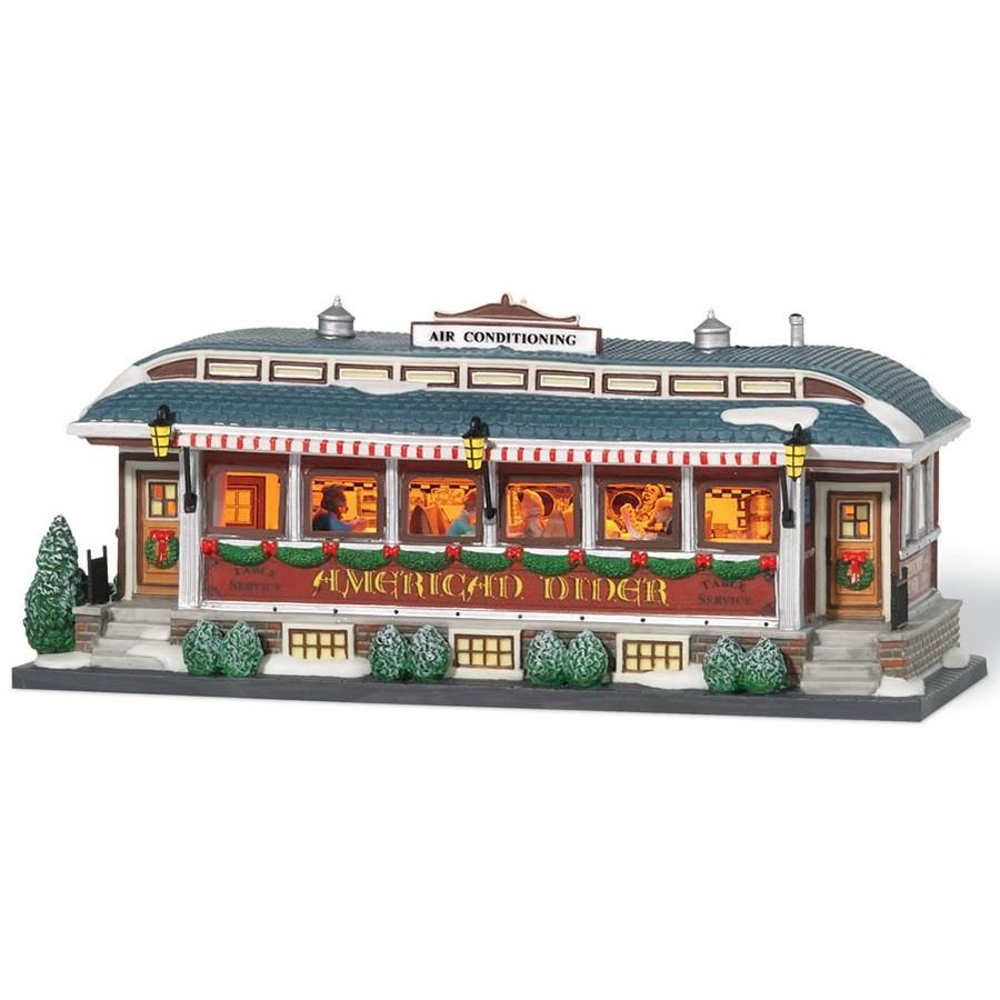 department 56 799939 american diner. Black Bedroom Furniture Sets. Home Design Ideas