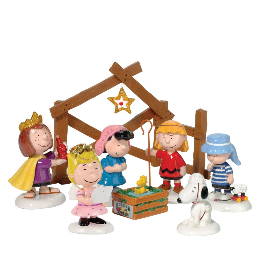 Peanuts Pagent, Set of 8