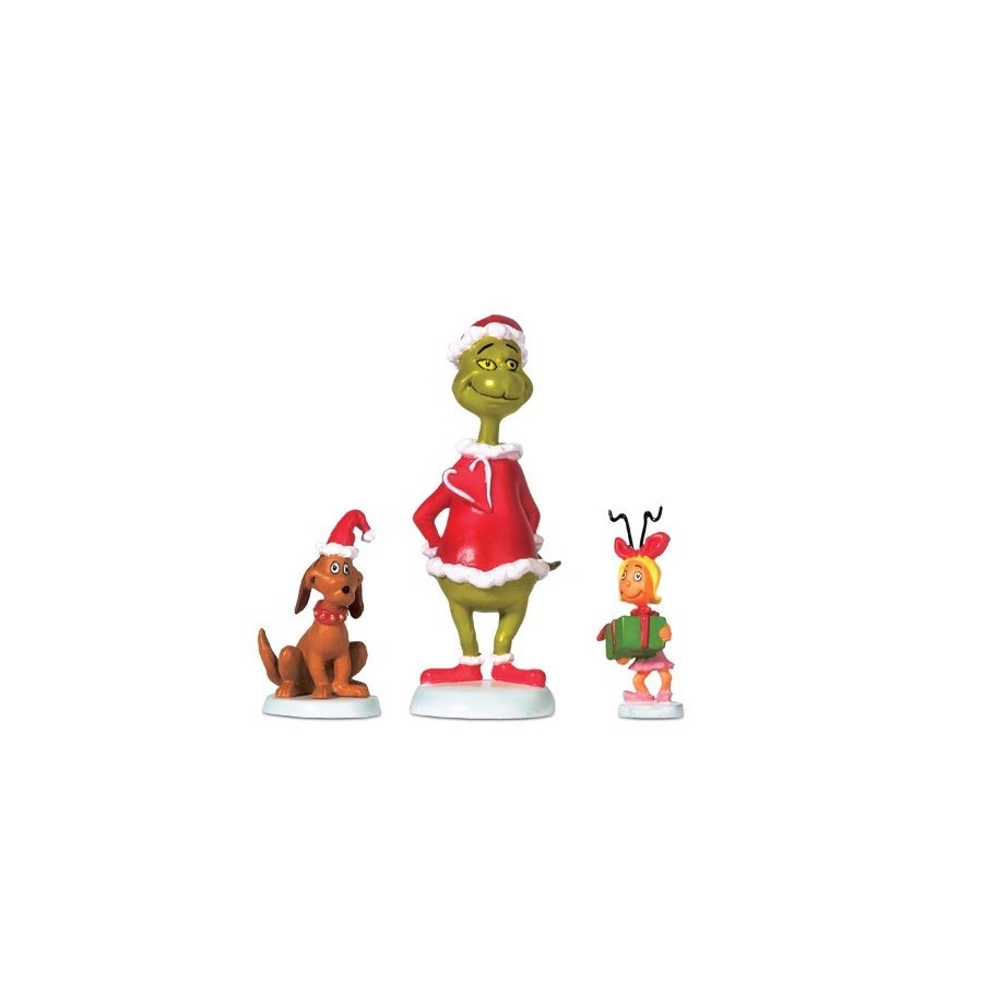 Grinch, Max and Cindy-Lou Who