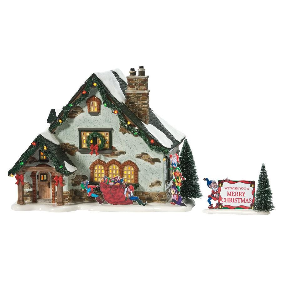 department 56 55359 santa 39 s wonderland house. Black Bedroom Furniture Sets. Home Design Ideas