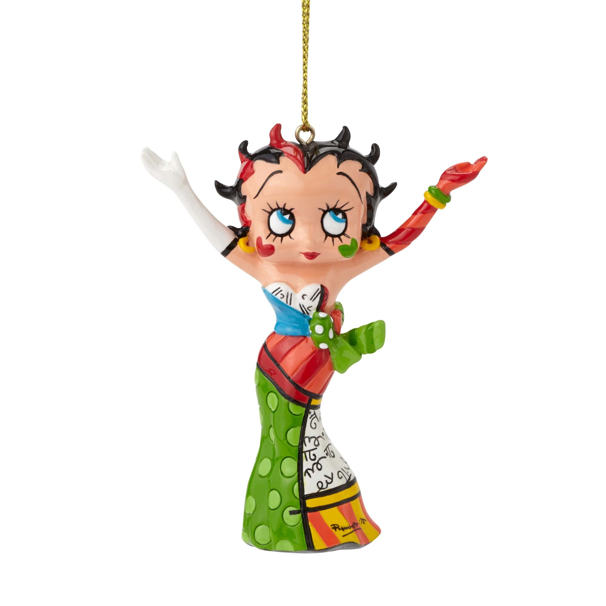 Betty Boop Strikes A Pose Ornament