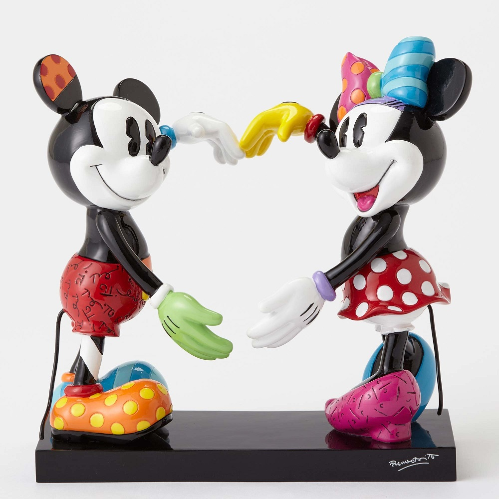 Mickey And Minnie Forming Heart