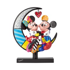 Mickey and Minnie on the Moon