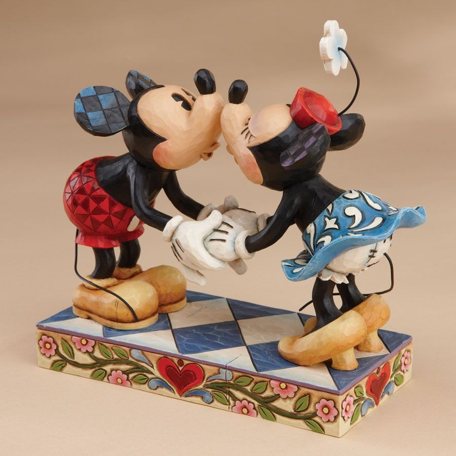 Smooch For My Sweetie - Mickey and Minnie Kissing