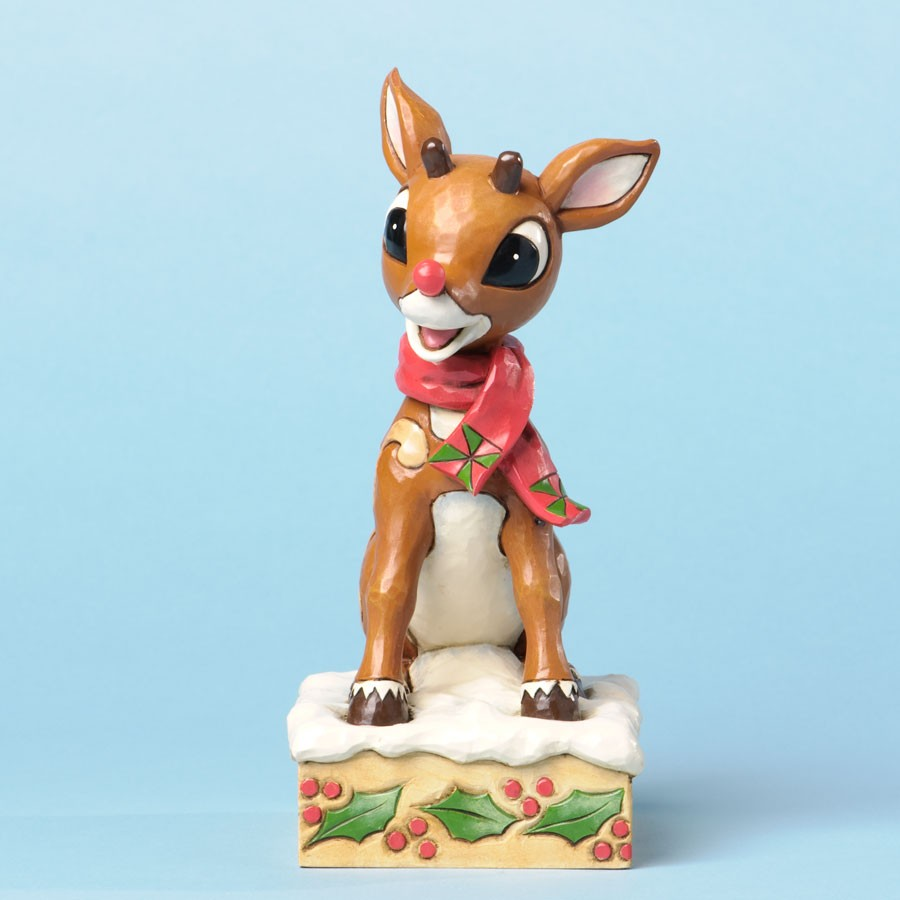 Rudolph With Blinking Nose