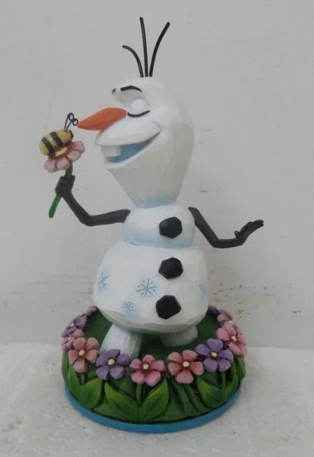 Olaf with Flowers