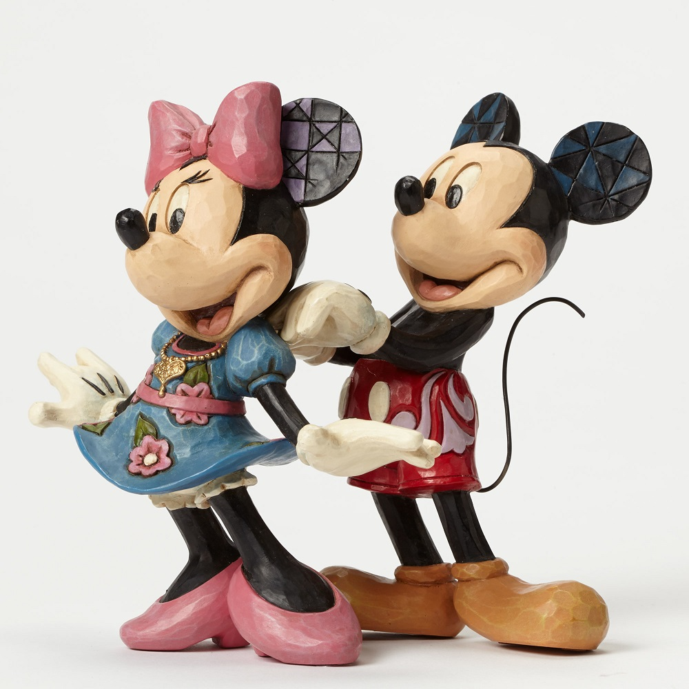 For My Sweetheart - Mickey And Minnie With Necklace