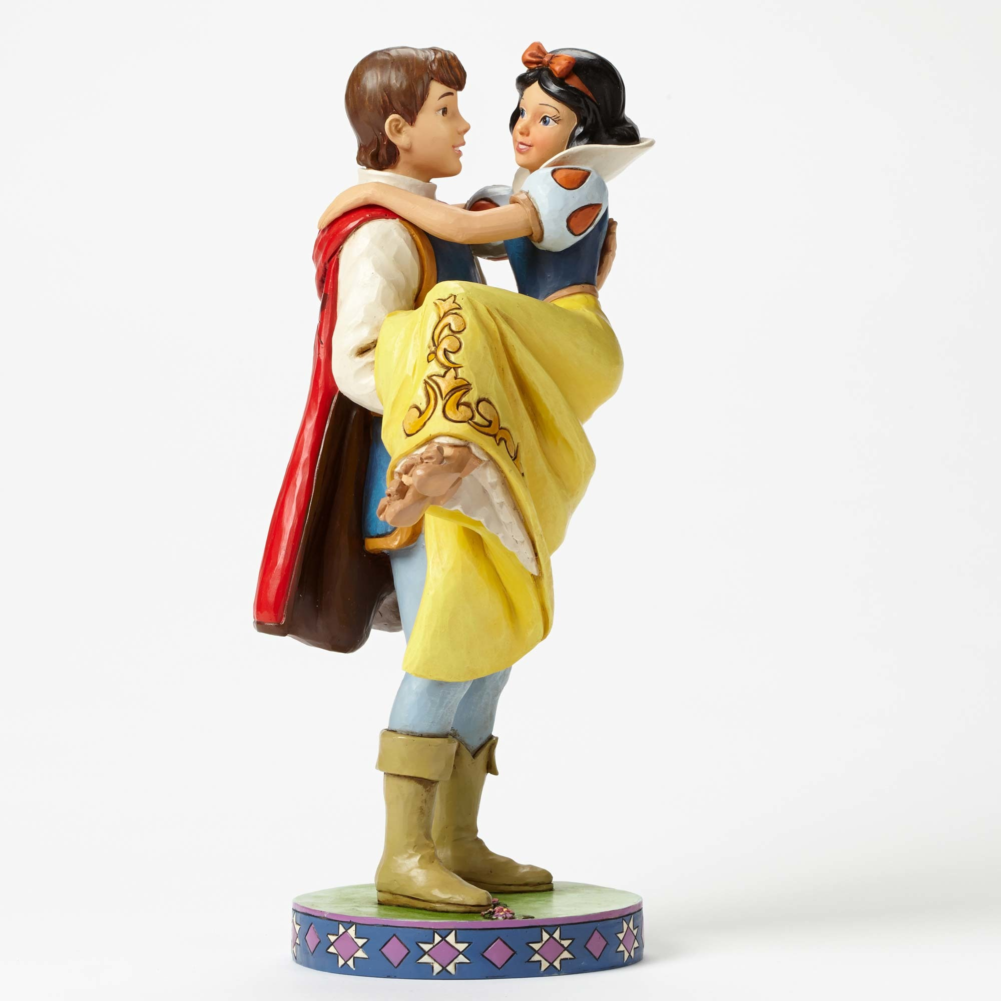 Disney Traditions 4049623 Snow White With Prince Happily