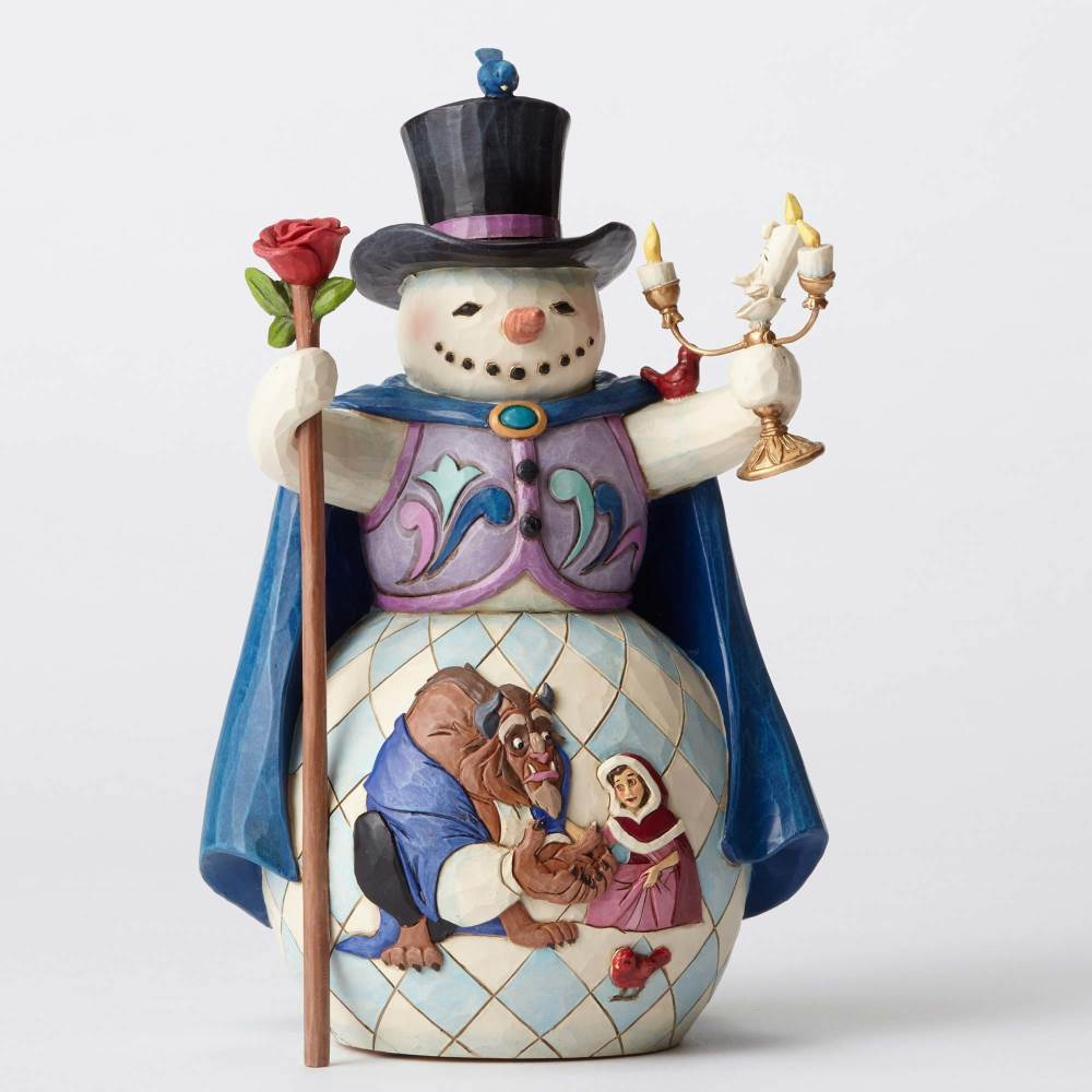 Enchanted Christmas - Beauty and Beast Snowman