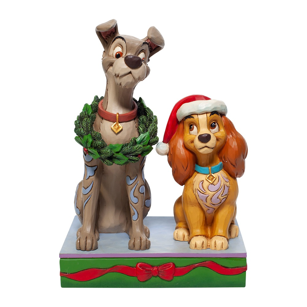 Christmas Lady And Tramp