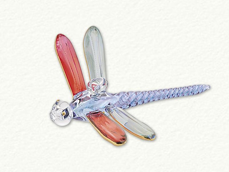 Small Ornament Dragon Multi-Colored