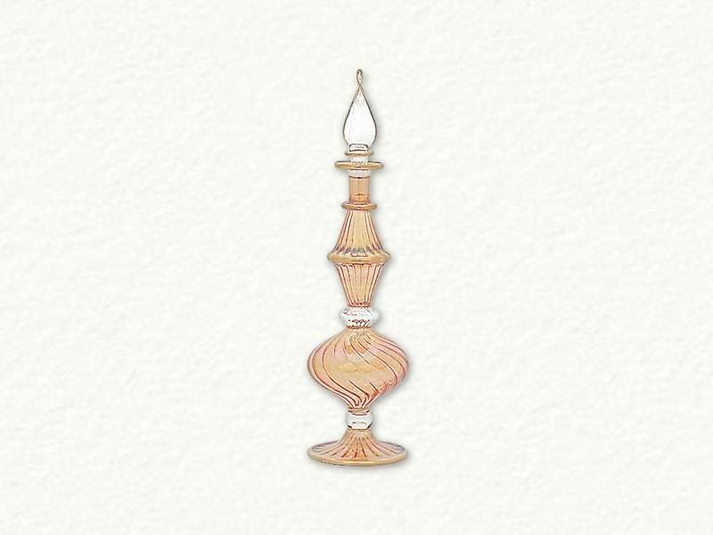 Full Size Perfume Bottle Swirl - Amber