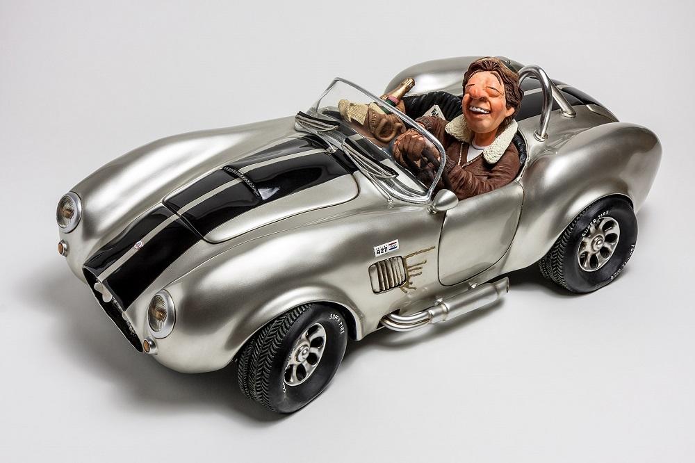 Shelby Cobra 427 Silver - Small
