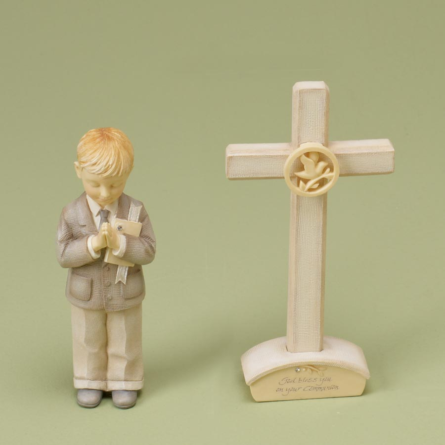 Communion Boy Set With Cross