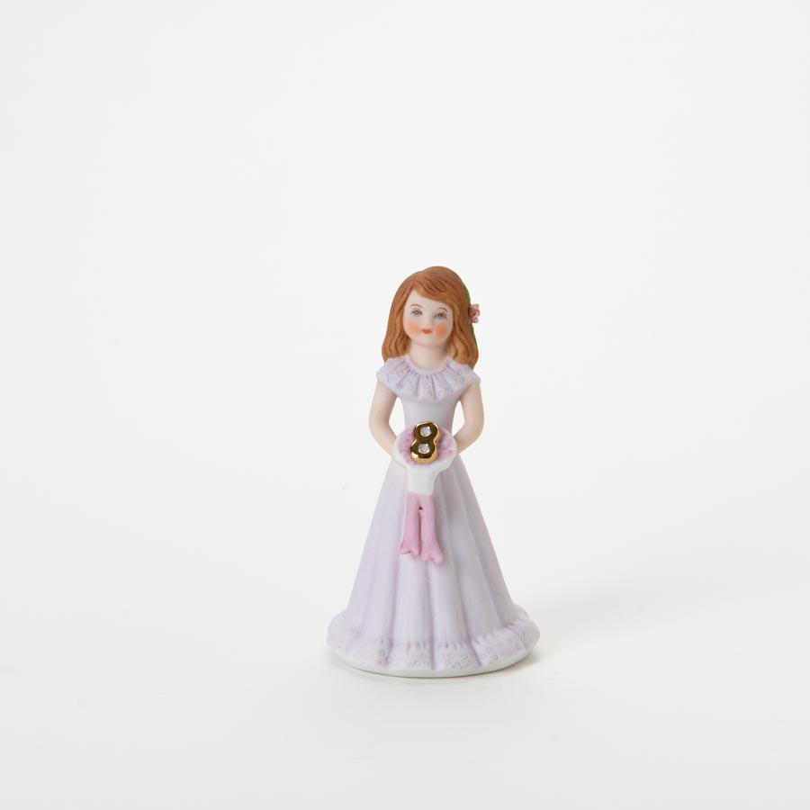 Brunette - Age 8