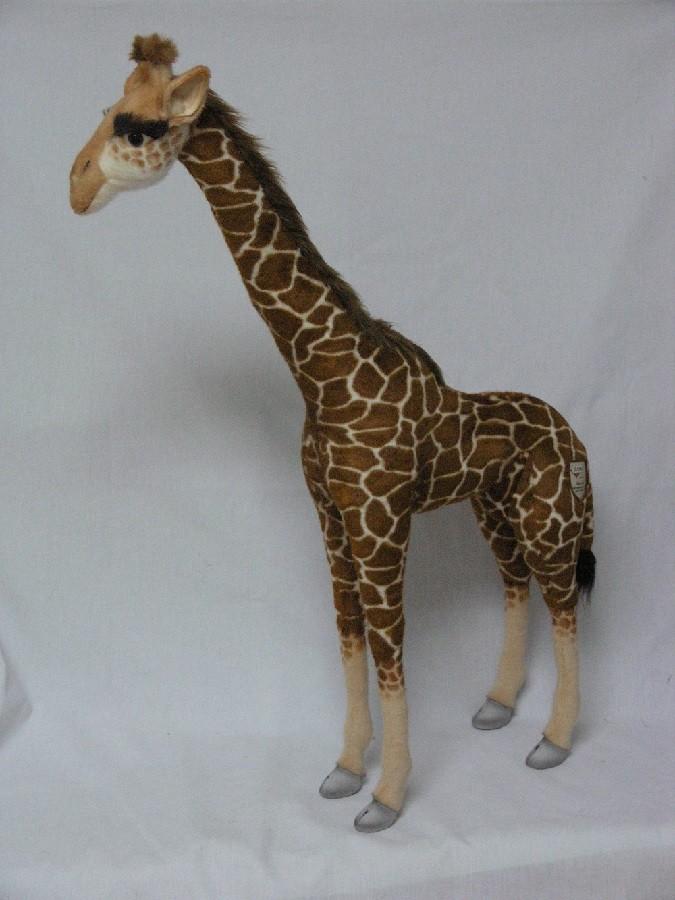 Hansa 2652 Giraffe Standing And Ride On 44