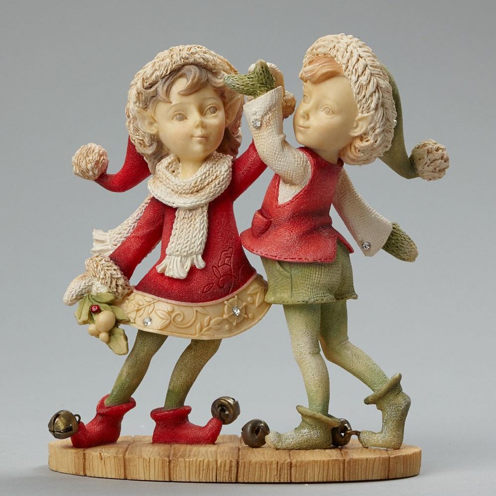 HoHoHo Do Si Do - Boy And Girl Dancing Elf