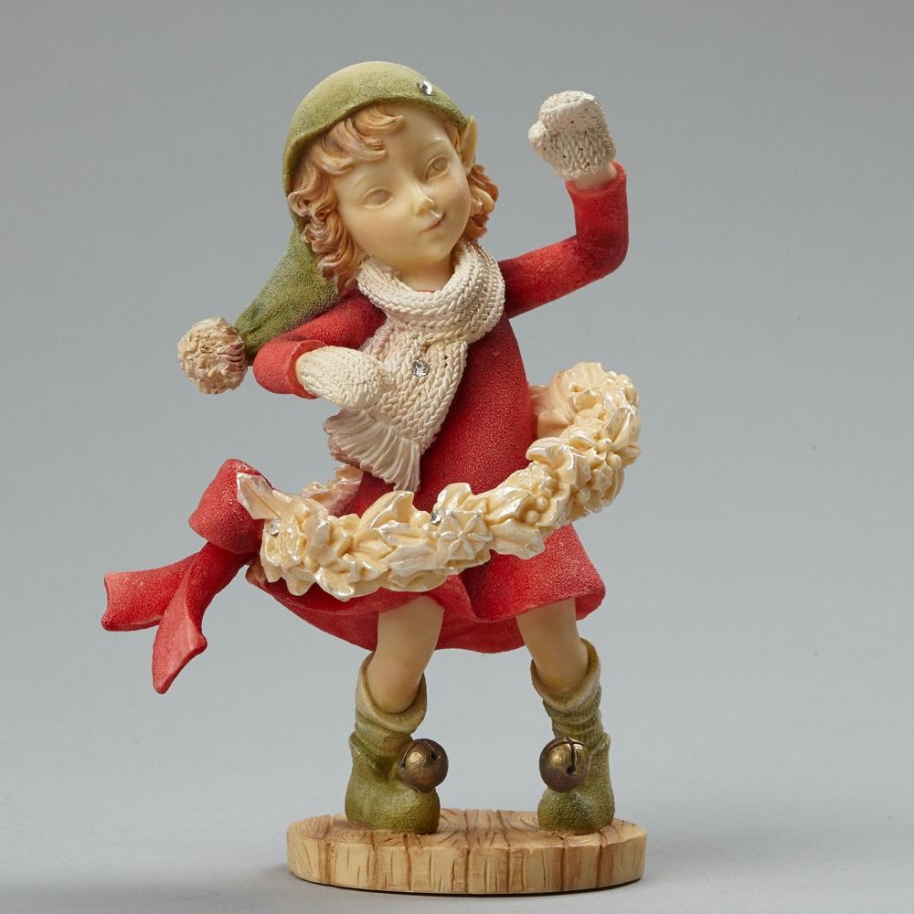 Happy Huladays - Elf With Wreath