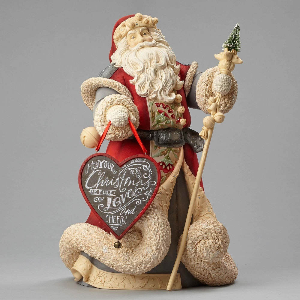 May Your Christmas Be Full Of Love and Cheer - Deluxe Santa Masterpiece