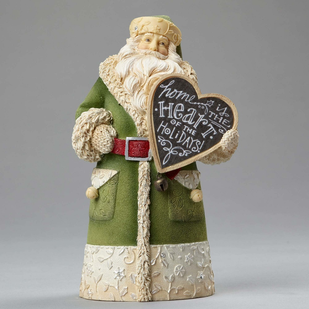 Home Is The Heart Of The Holidays! - Mini Santa Home
