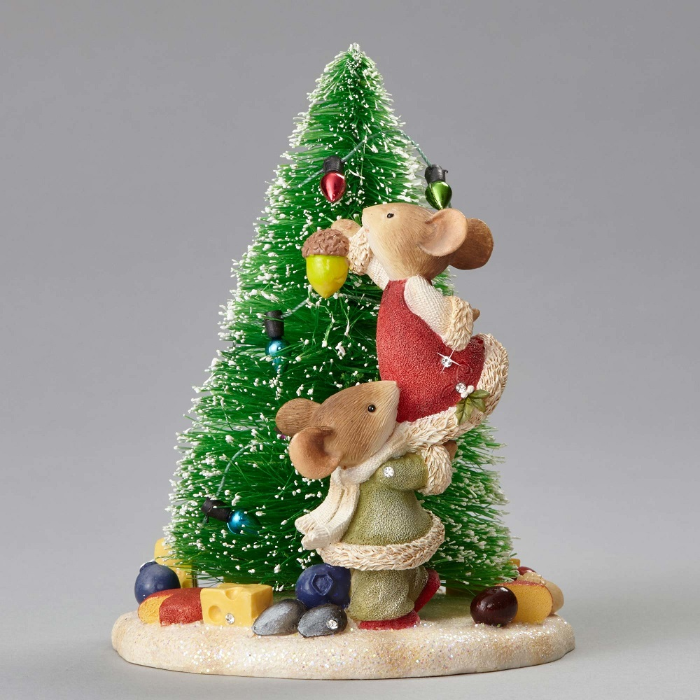 Have Yourself A Merry Little Christmas - Mice Decorating Christmas Tree