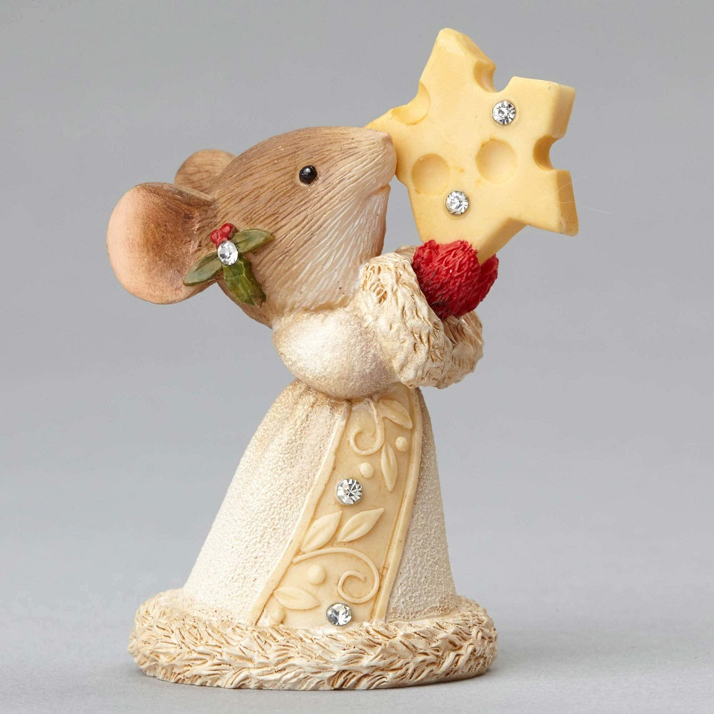 Swissing You Joy - Mouse With Cheese Star