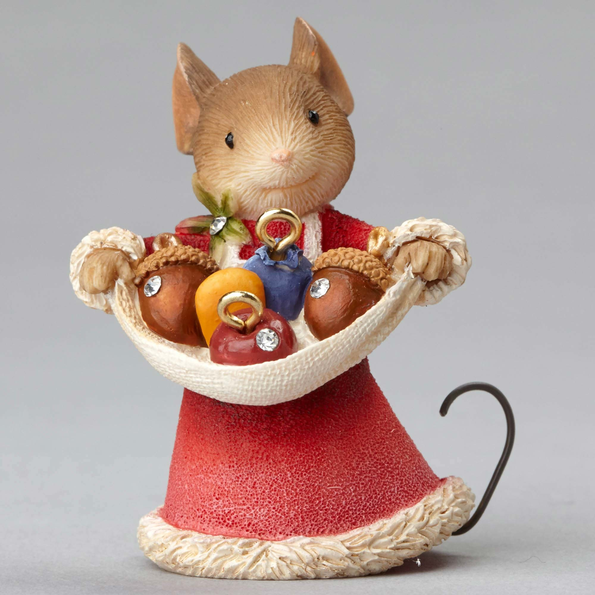 Bright Star - Mouse With Acorn Ornaments