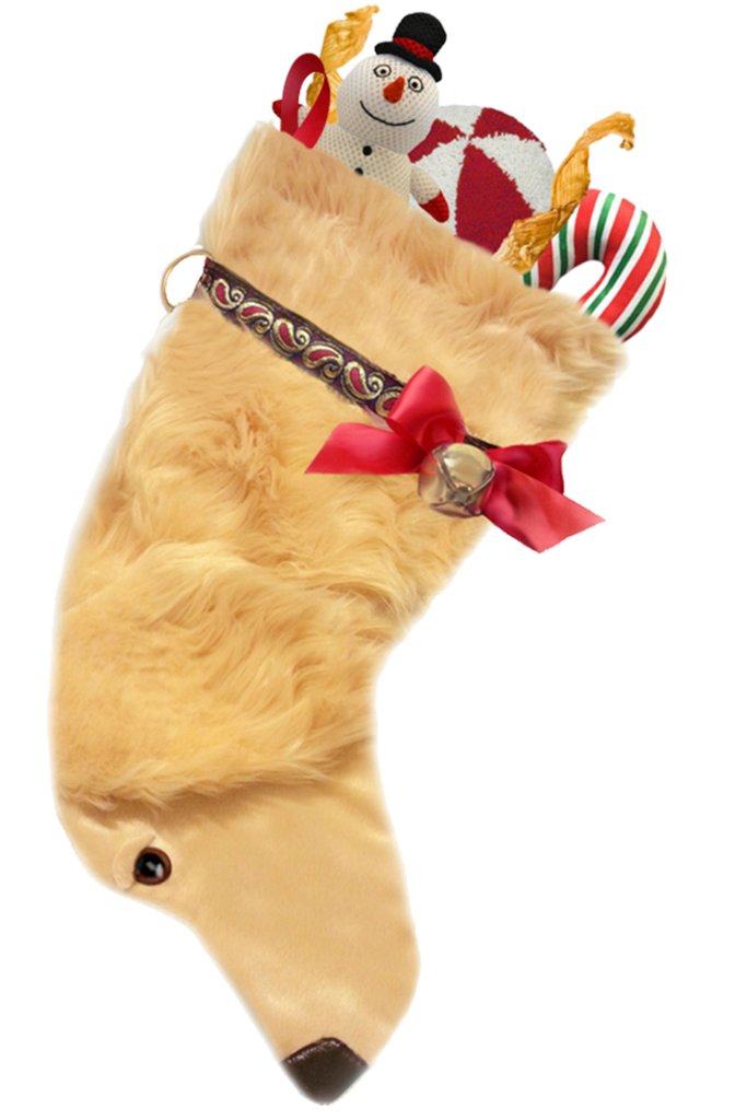 Golden Retriever Dog Stocking