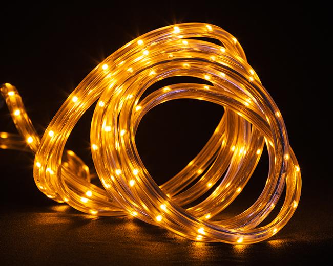 J hofert co 138006 amber rope light led amber rope light led aloadofball Choice Image