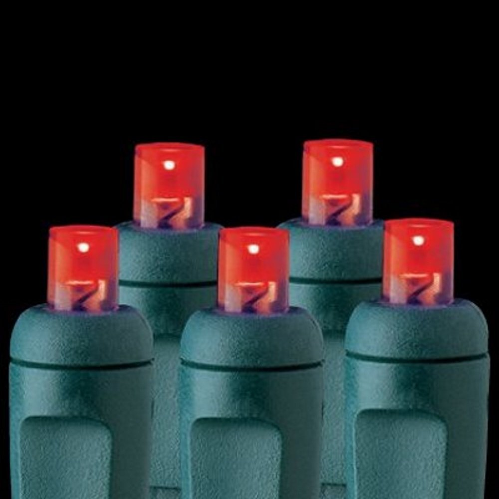 Red - 100 Lights - LED