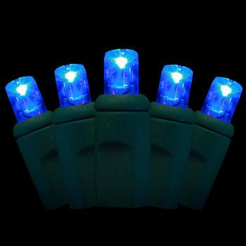 100 Blue Lights - LED
