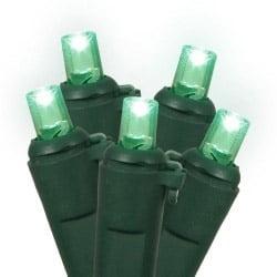 100 Green Lights - LED