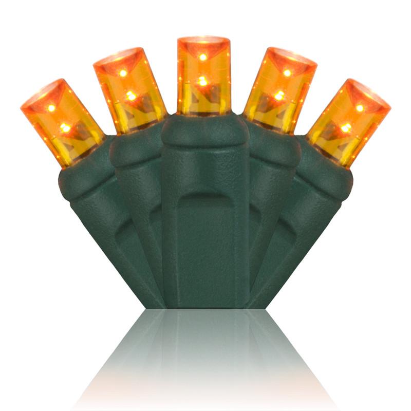 100 Amber Lights - LED