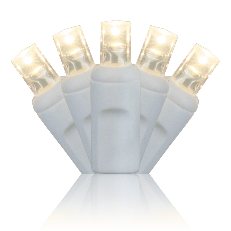 100 Warm White Lights - LED