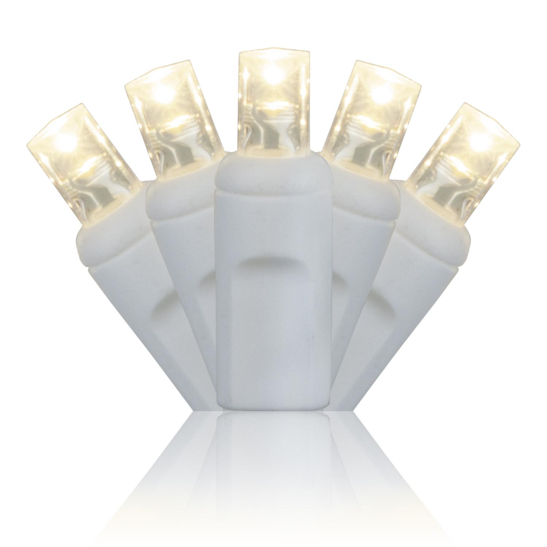 J HOFERT CO 236822 White - 100 Icicle Lights - LED