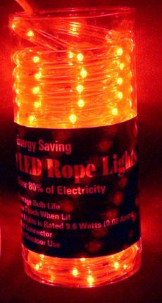 J hofert co 138006 amber rope light led aloadofball Choice Image