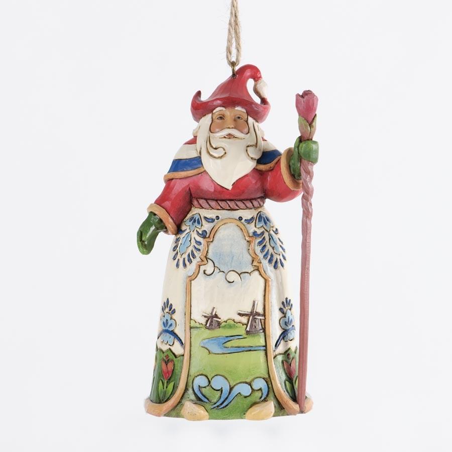 Dutch Santa Hanging Ornament