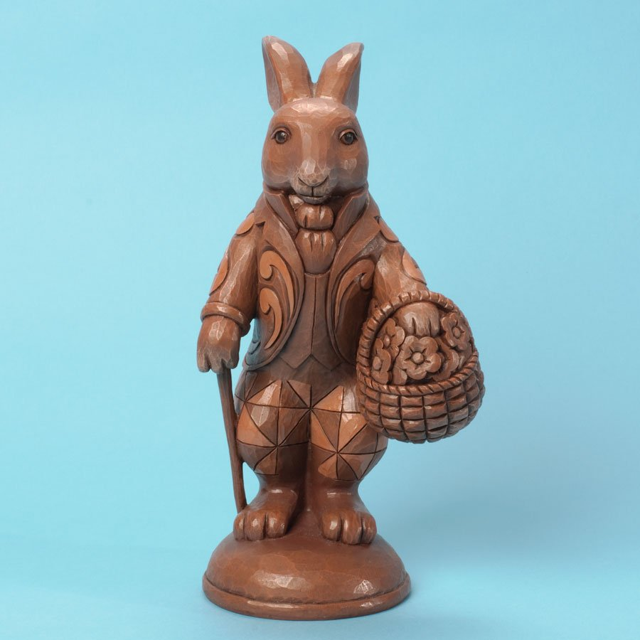 Gather Sweet Surprises - Chocolate Bunny with Basket