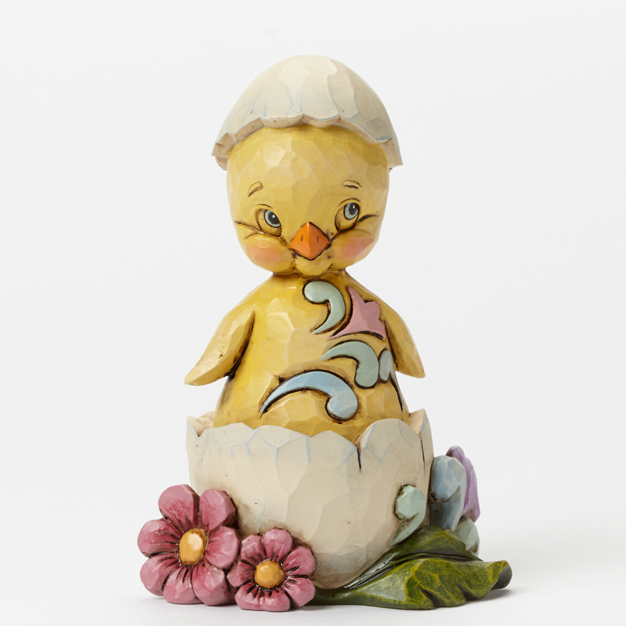 A Crack Up - Pint-Sized Chick in Egg Shell