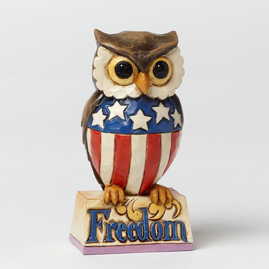Mini Patriotic Owl
