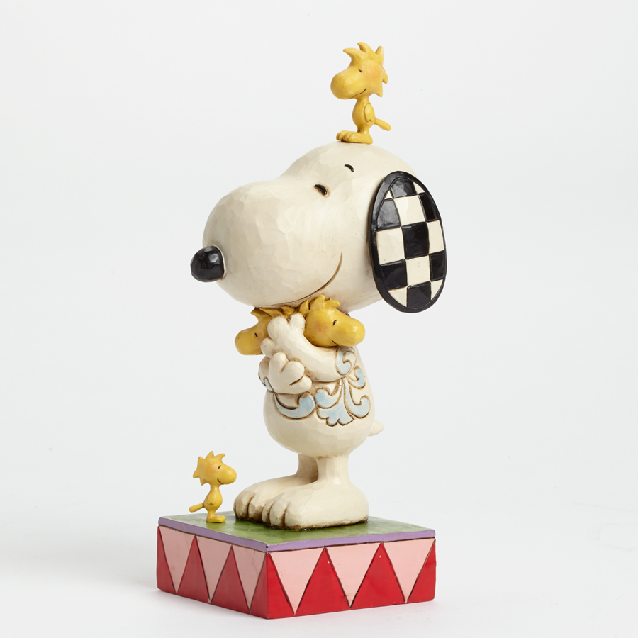 Love Is A Beagle Hug - Snoopy and Woodstock