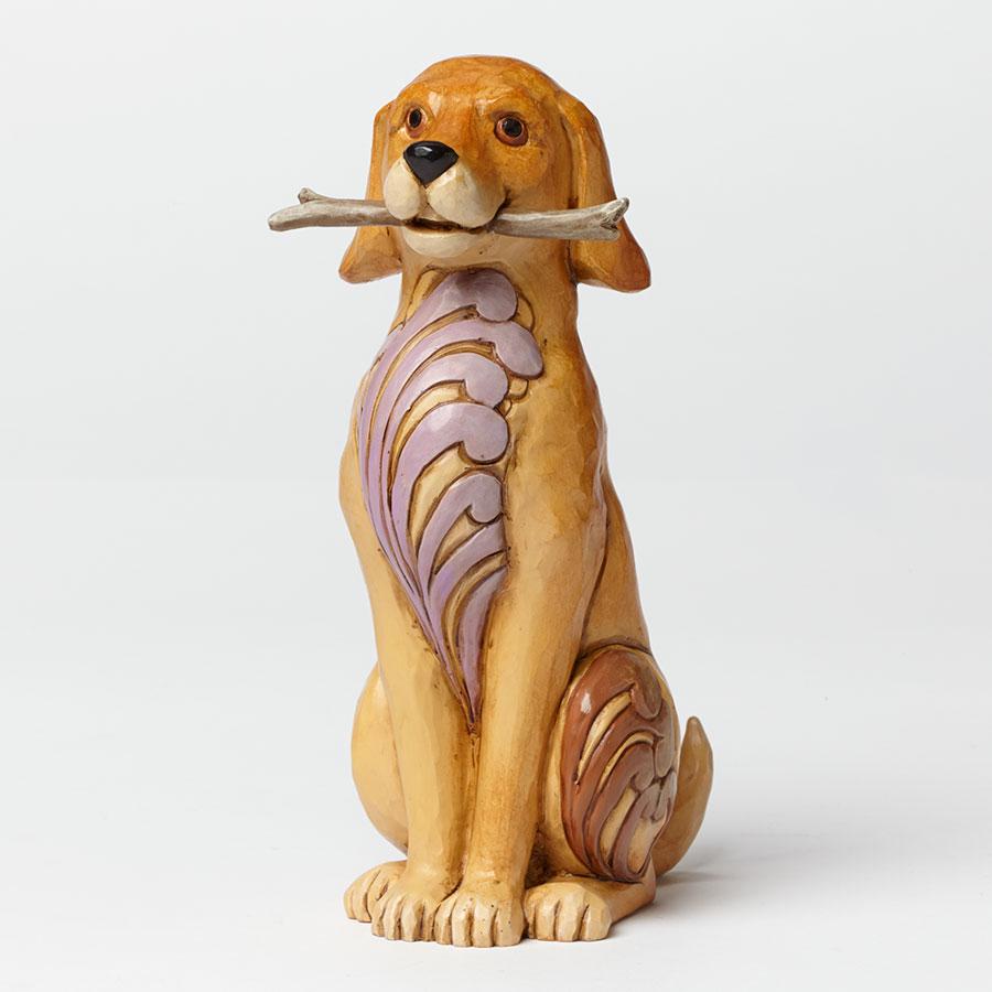 Brewster - Dog with Stick